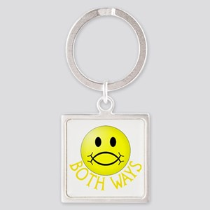 CP-T both yel Square Keychain