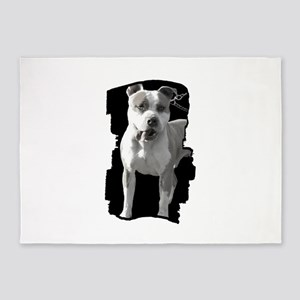 Pit Bull 5'x7'Area Rug