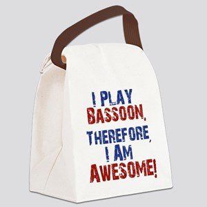 Bassoon copy Canvas Lunch Bag