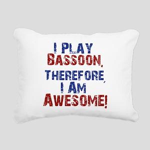 Bassoon copy Rectangular Canvas Pillow