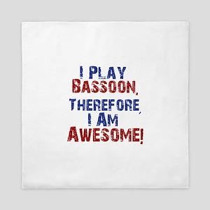 Bassoon copy Queen Duvet