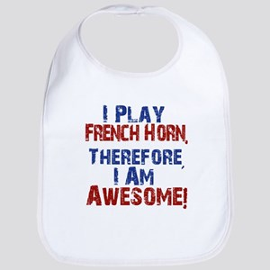 I Play French Horn Bib