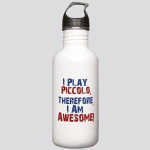 I Play Piccolo Water Bottle