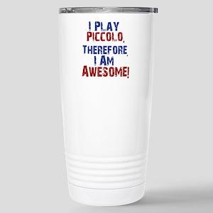 I Play Piccolo Travel Mug