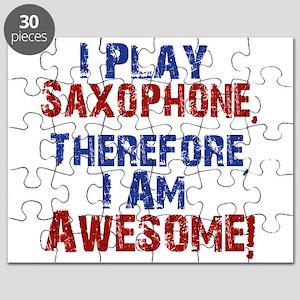 I Play Saxophone Puzzle
