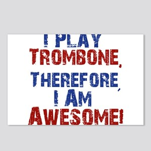 I Play Trombone Postcards (Package of 8)