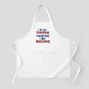 I Play Trombone Apron