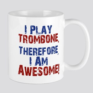 I Play Trombone Mugs