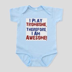 I Play Trombone Body Suit