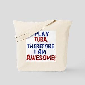 I Play Tuba Tote Bag