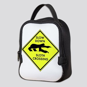 Sloth Crossing Neoprene Lunch Bag