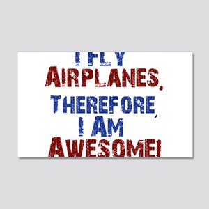 I fly airplanes Wall Decal