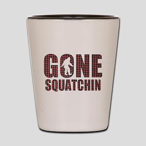Gone Squatchin rp2 Shot Glass