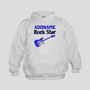 LOVE ROCK N ROLL Kids Hoodie