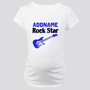 LOVE ROCK N ROLL Maternity T-Shirt