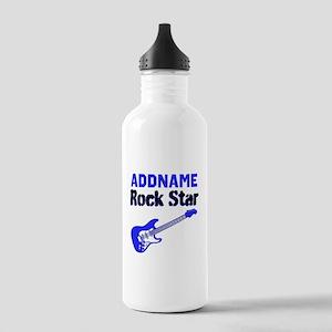 LOVE ROCK N ROLL Stainless Water Bottle 1.0L