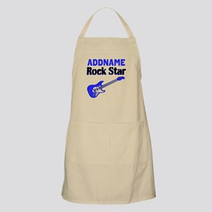 LOVE ROCK N ROLL Apron