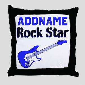 LOVE ROCK N ROLL Throw Pillow