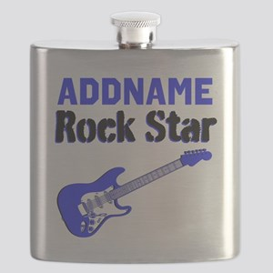 LOVE ROCK N ROLL Flask