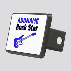 LOVE ROCK N ROLL Rectangular Hitch Cover