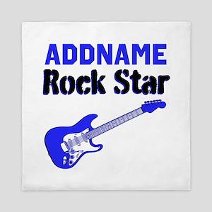 LOVE ROCK N ROLL Queen Duvet