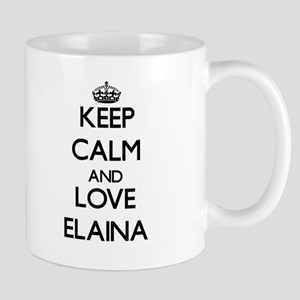 Keep Calm and Love Elaina Mugs
