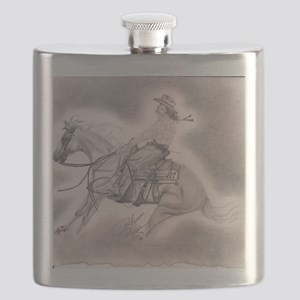 Horse and Rider Flask