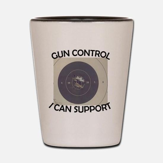 gun-control Shot Glass