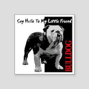 """little-friend3-dark Square Sticker 3"""" x 3"""""""