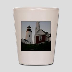 Pemaquid Bell House Keepsake Box Shot Glass