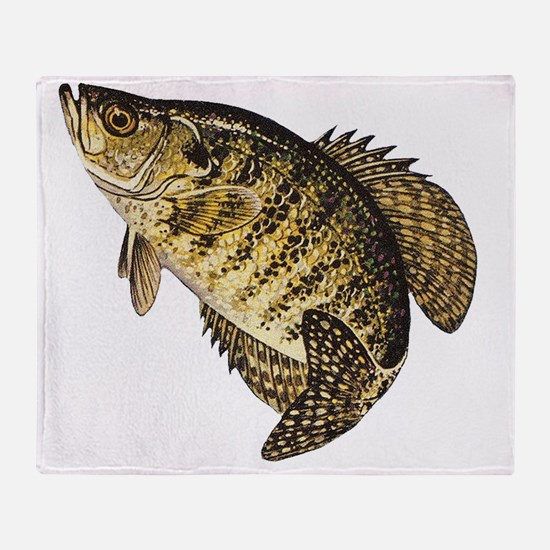 crappie-image Throw Blanket