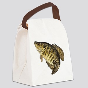 crappie-image Canvas Lunch Bag