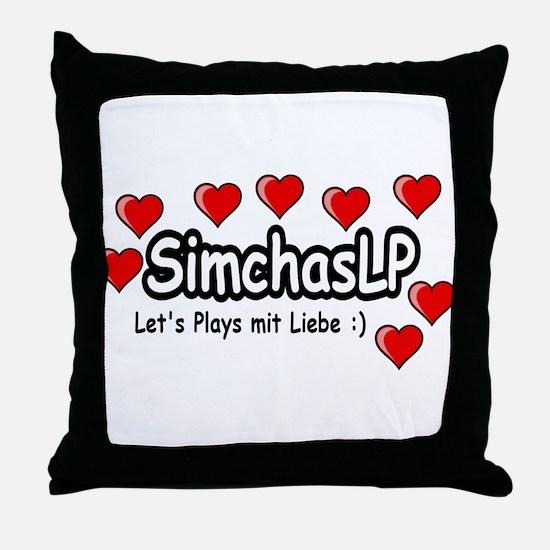 SimchasLP Hearts / SimchasLP Herzen Throw Pillow