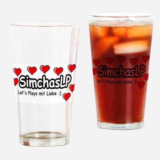 SimchasLP Hearts / SimchasLP Herzen Drinking Glass