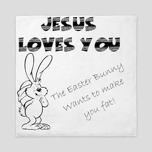 Easter Bunny 2 Queen Duvet