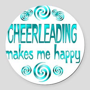 cheerleading Round Car Magnet