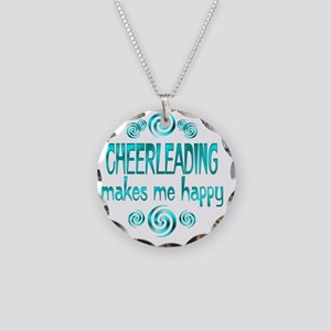 cheerleading Necklace Circle Charm