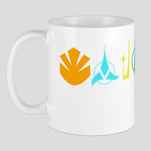 Deep Space Nine Races Mug