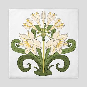 Daffodils Queen Duvet