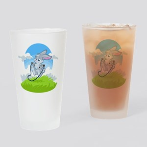 Bunny Jump Rope Drinking Glass