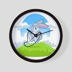 Bunny Jump Rope Wall Clock