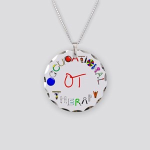 g7901 Necklace Circle Charm