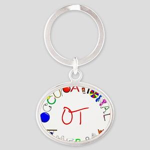 g7901 Oval Keychain