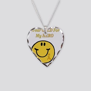 2-Wear Gold for Young Heros 3 Necklace Heart Charm