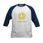Are You Too Warm? Kids Baseball Jersey