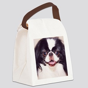 .japanese chin Canvas Lunch Bag