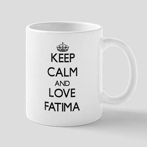 Keep Calm and Love Fatima Mugs