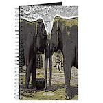 Elephant Eyes Woodcut Journal