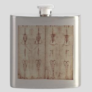 Shroud of Turin - Full Length Front-Back.#$# Flask