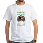 Confederate Irish White T-Shirt